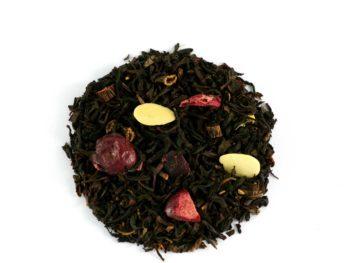 John thé noir cranberry amande