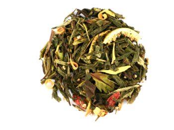 Thé vert et blanc figues, baies de goji