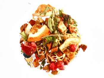Victor Rooibos vert verveine orange, groseille et framboisefruits