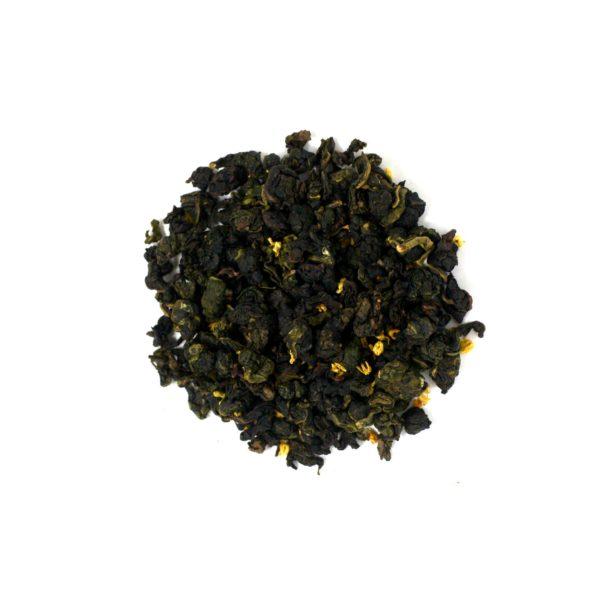 Jade Thé oolong semi-oxydé fleurs d'osmanthe